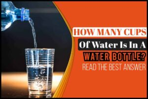 How Many Cups Of Water Is In A Water Bottle
