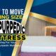 How to Move a King Size Tempurpedic mattress