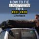 How to Tie a Mattress to a Roof Rack