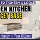 How to Tighten a Loose Moen Kitchen Faucet Base